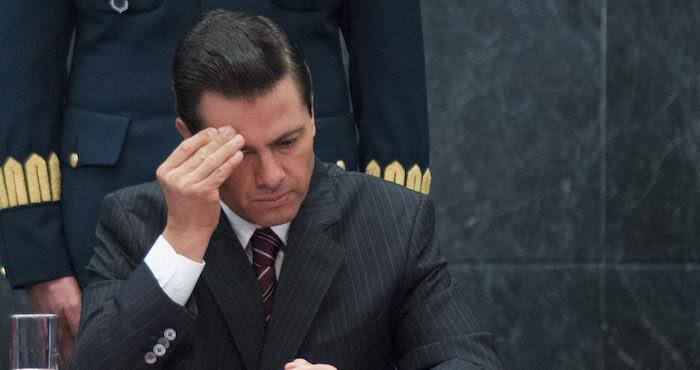 CIUDAD DE MÉXICO, 10ENERO2016.- Enrique Peña Nieto, presidente de México, durante la sesión ordinaria del Consejo Nacional de Protección Civil en la Residencia Oficial de Los Pinos. FOTO: DIEGO SIMÓN SÁNCHEZ /CUARTOSCURO.COM