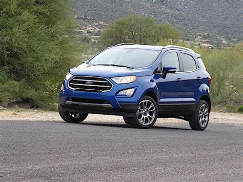 ford ecosport road test  review autobytelcom