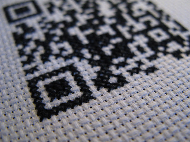 QR close-up