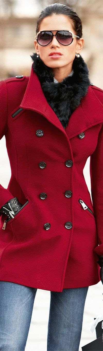 Madeleine Fall 2014 ● Madeleine Pea Coat