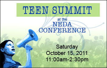 Flyer Graphic for Teen Summit
