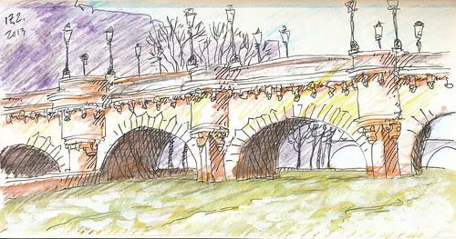 Pont neuf, Paris by Brin d'Acier