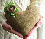 nest on a heart