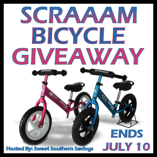 Scraaam Bicycle Giveaway. Ends 7/10