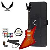 Dean Guitars Chicago Series Z-CF-TCS-KIT-1 Chicago Flame Electric Guitar Kit