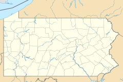 John Brown Tannery Site is located in Pennsylvania