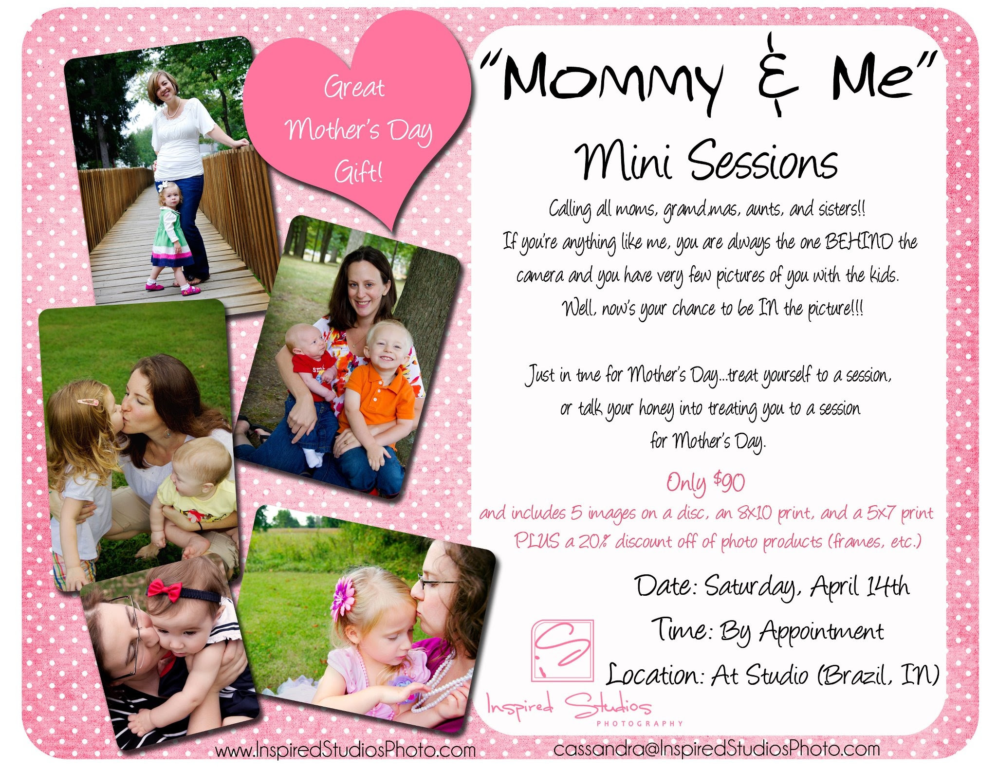 Mommy Me Mini Sessions Inspired Studios Blog