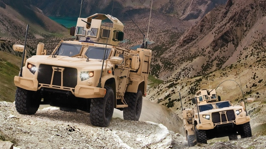 The JLTV (Oshkosh Defense)