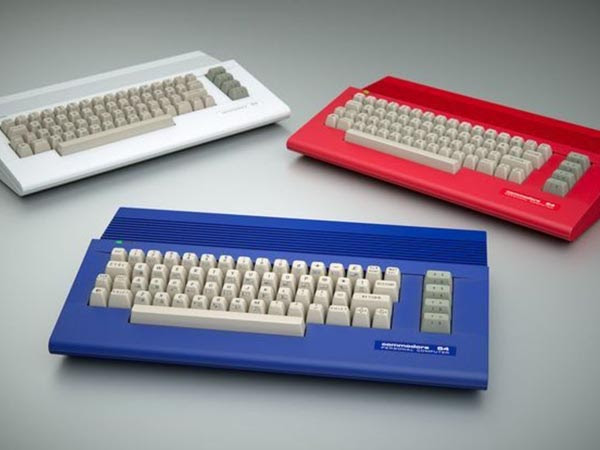 carcasas colores commodore64c