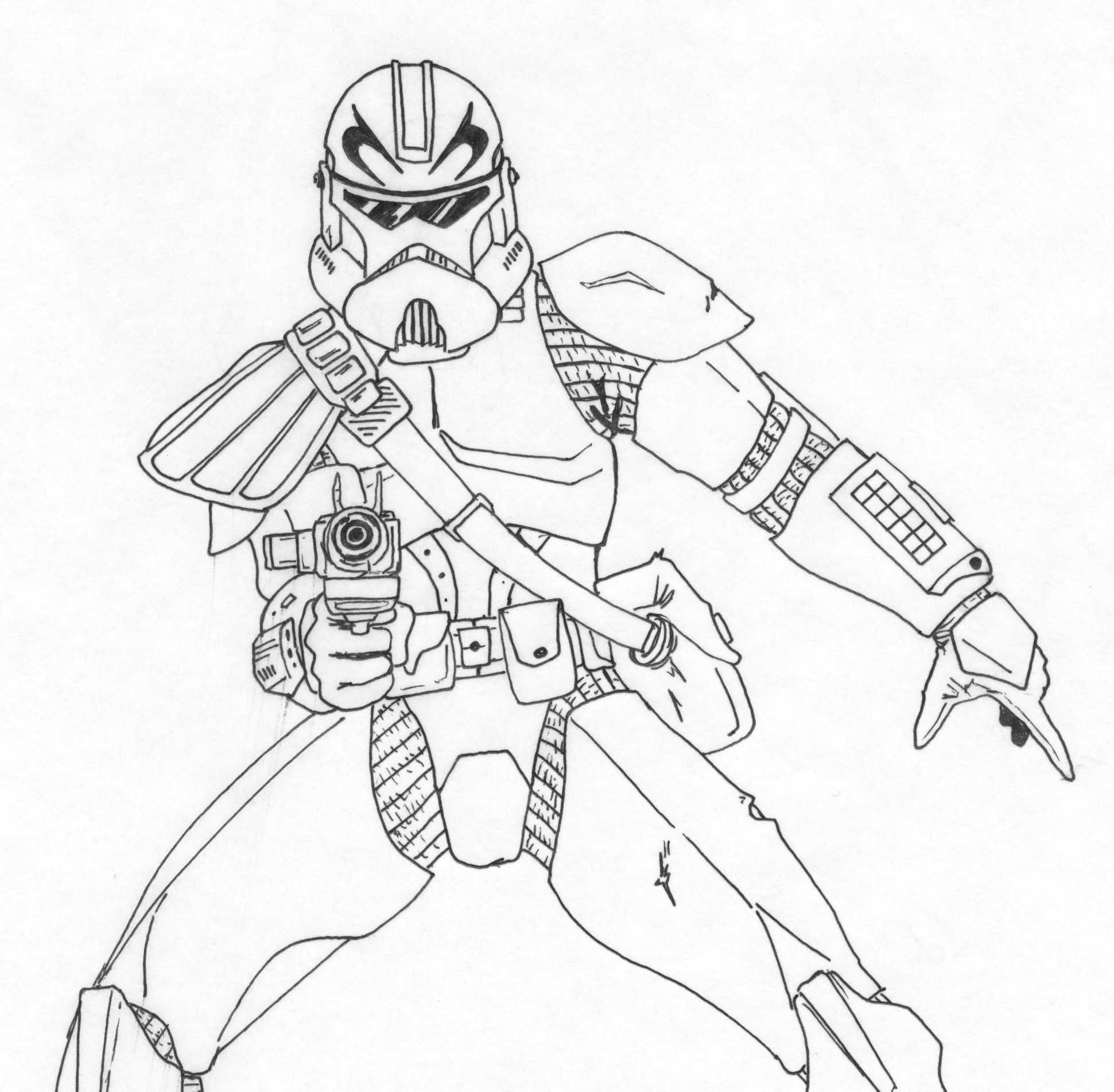 19 best ausmalbilder star wars clone trooper