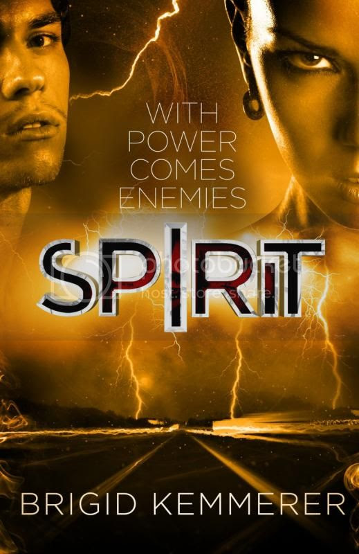 Spirit by Brigid Kemmerer UK cover
