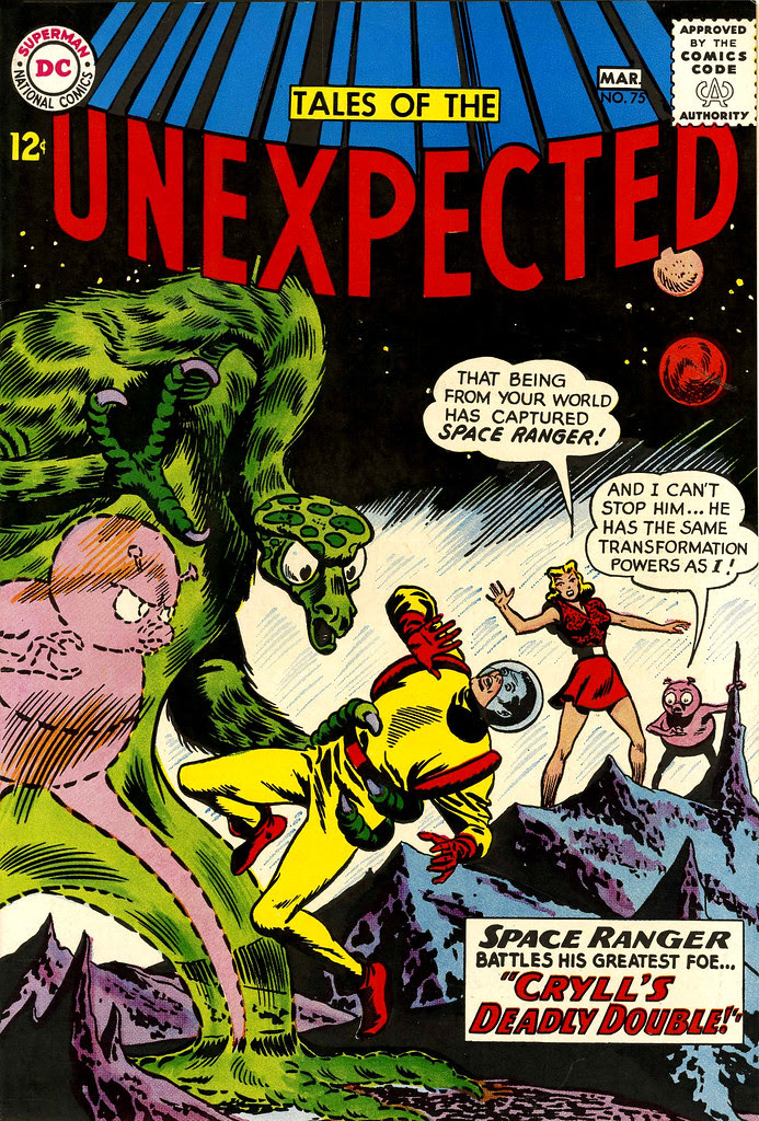 Tales of the Unexpected #75 (DC, 1963) Bob Brown cover