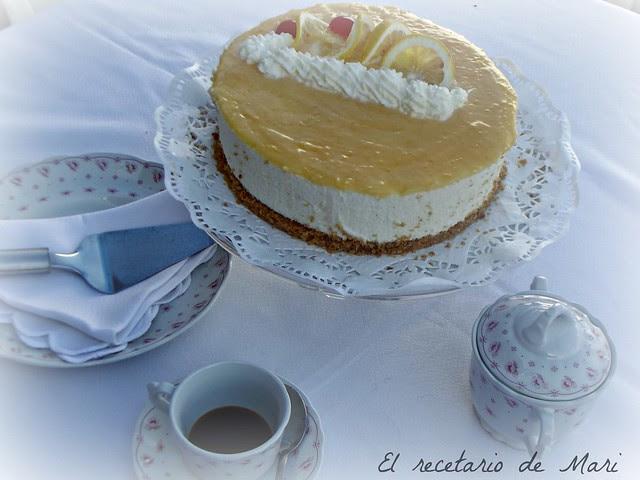 tarta de queso y limón 5
