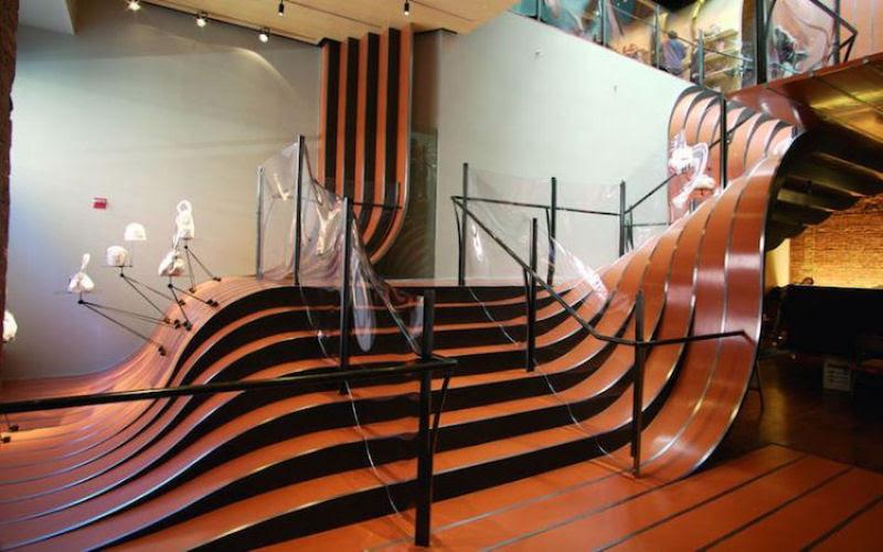 Escadas incrivelmente projetadas que estão um degrau acima das demais 12