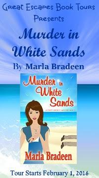 MURDER IN WHITE SANDS small banner