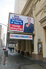 Cort Theater - Will Ferrell's George W. Bush show