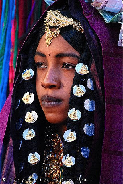 Tuareg bride by العقوري [ Libya Photographer ]
