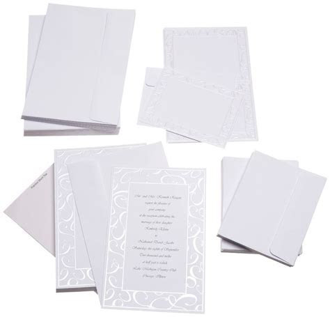 Cheap Wedding Invitations for $20 ? ? ? Kit Includes: 50