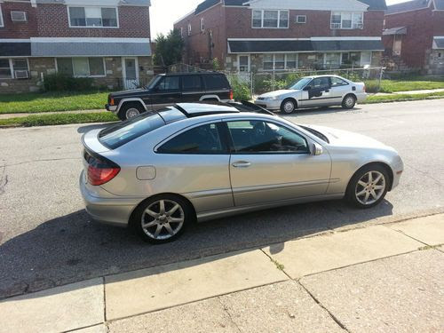 Purchase used 2002 Mercedes-Benz C230 Kompressor Coupe 2 ...