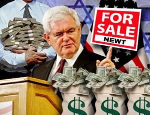 Newt's Big Bribe