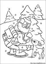 Disegni Di Rudolph Il Cucciolo Dal Naso Rosso Da Colorare