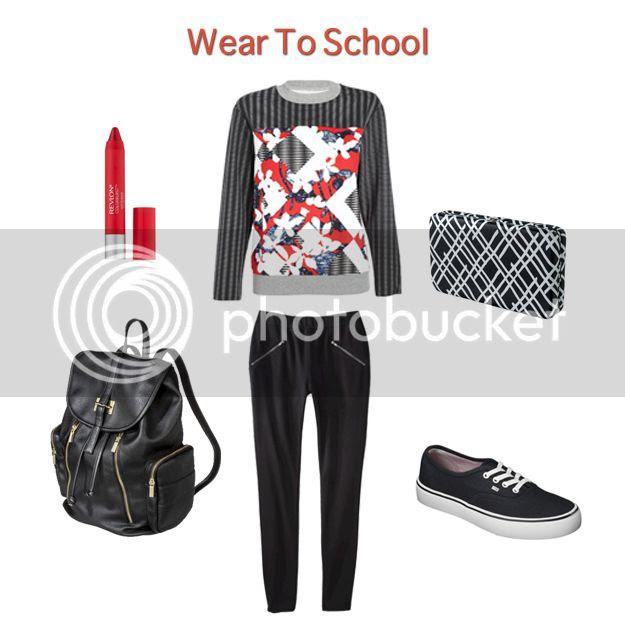 Peter Pilotto for Target lookbook - wear to school