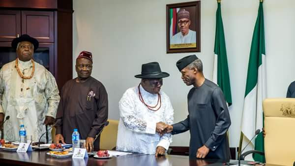 Image result for edwin clark and osinbajo