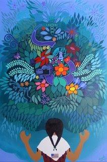 Floracion Hispana by Angela Lubinecky