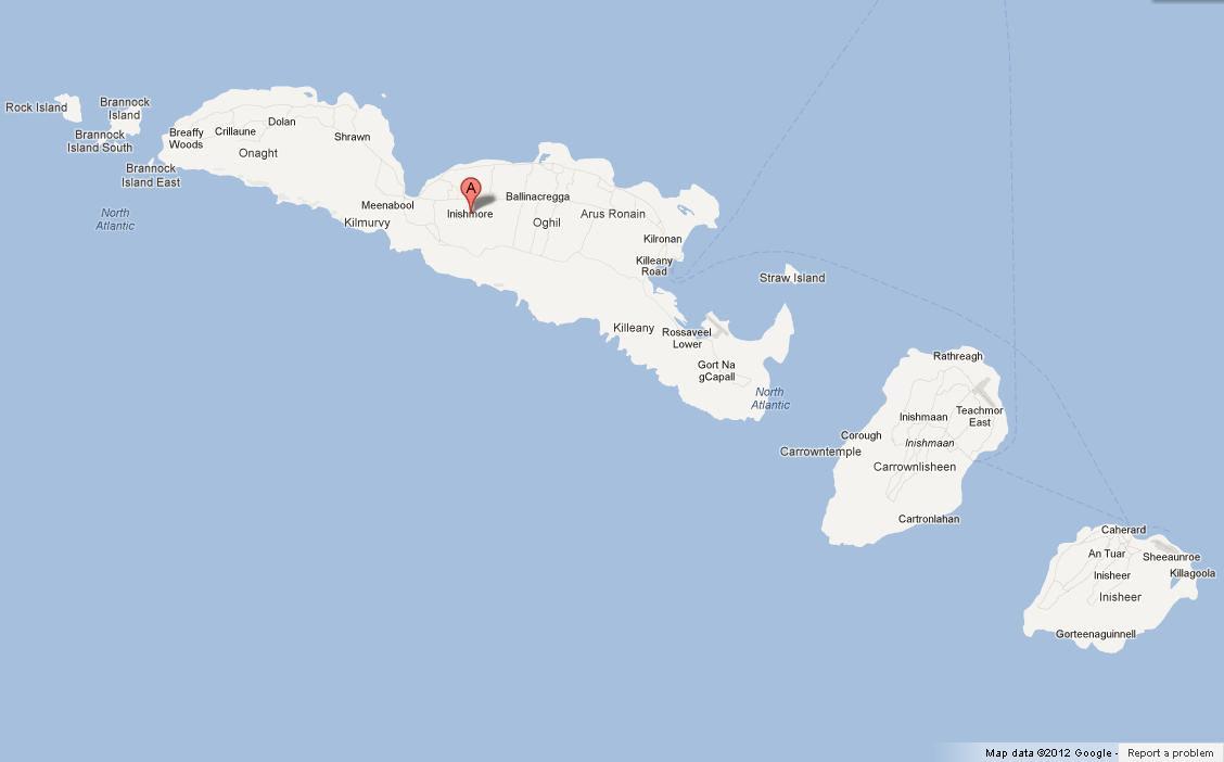 Map Of Aran Islands