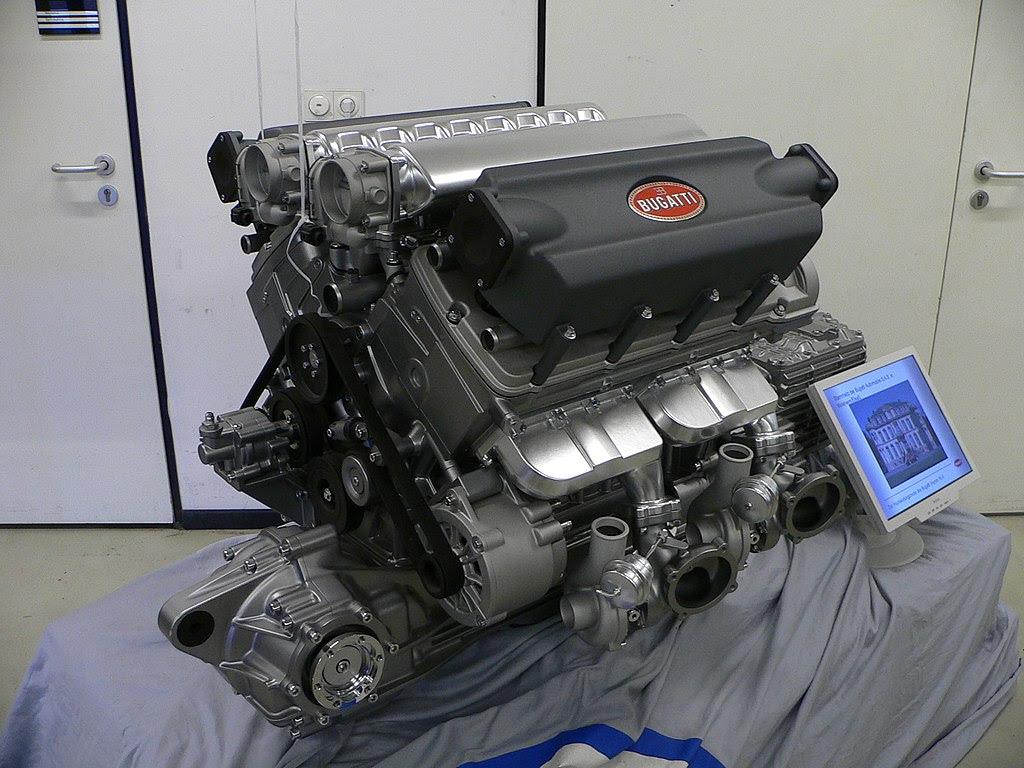Volkswagen Bugatti Veyron Engine