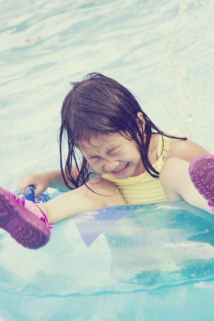 .Water fun.
