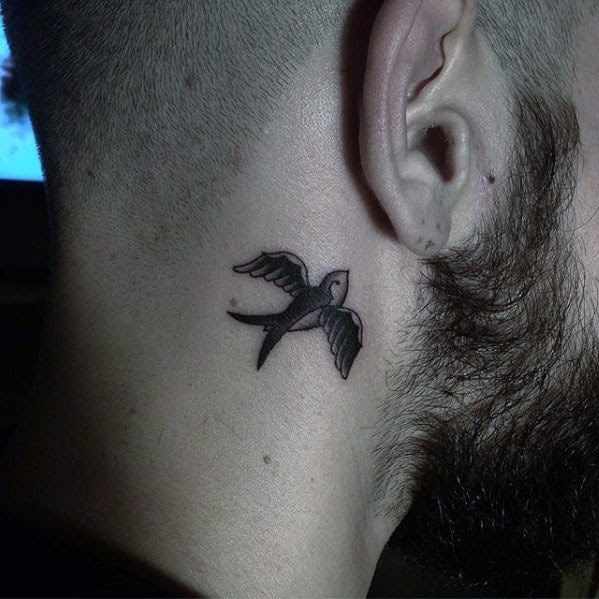 70 Traditional Swallow Tattoo Designs For Men Old School Birds