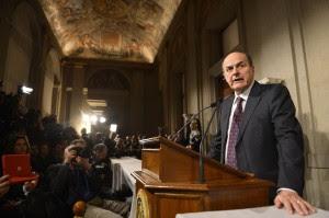 """Bersani in stallo, la parola al Colle """"Napolitano approfondirà personalmente"""""""