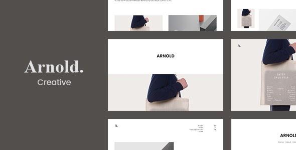 Arnold v1.7.8 - Minimal Portfolio WordPress Theme