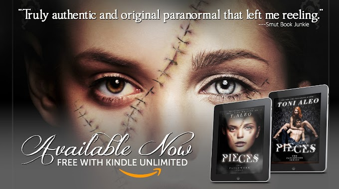 The Patchwork Series by Toni Aleo is now available in Kindle Unlimited!