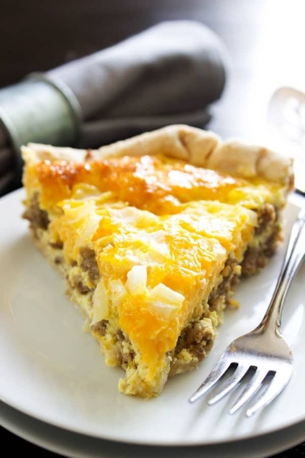 Sausage Quiche for Breakfast
