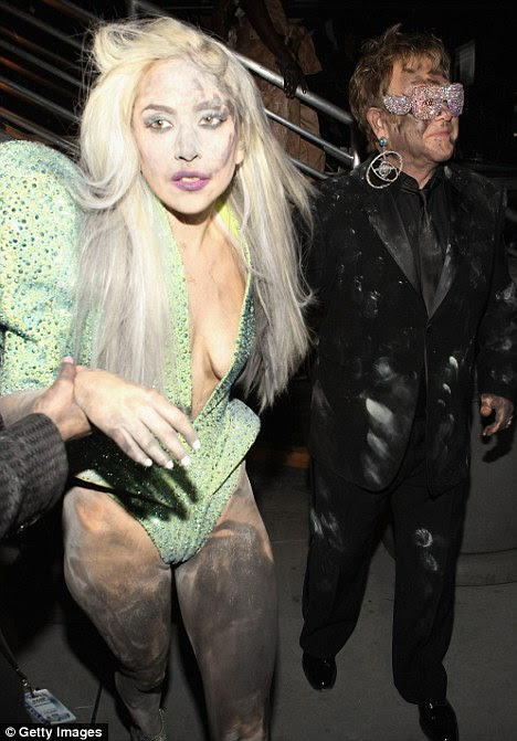lady gaga funny. Lady Gaga on front page of