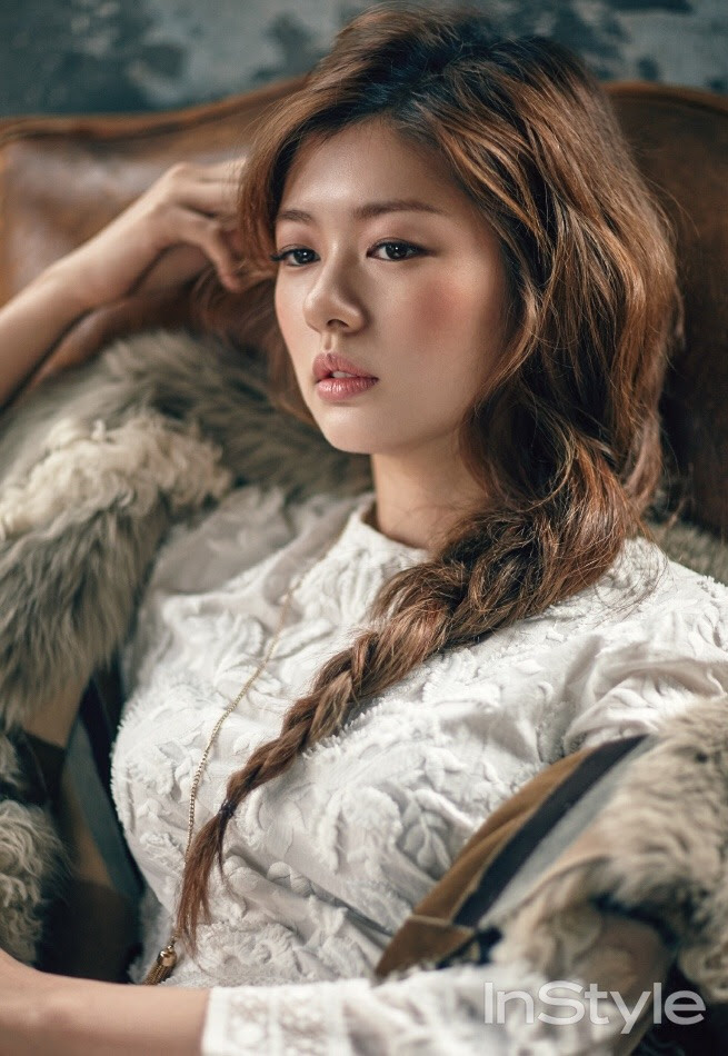 Jung So Min  for Instyle Korea December 2015. Photographed by Zoo Young Gyun