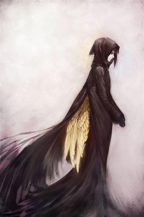images  anime wings  pinterest anime angel