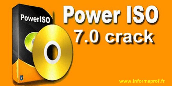 Télécharger Power Iso Crack 7 Version Complète Informaprof