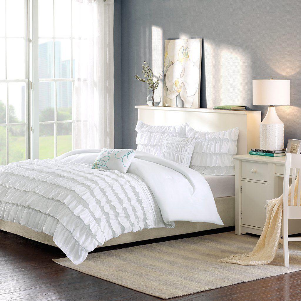 Upc 675716505974 Intelligent Design Demi Ruffled Comforter Set