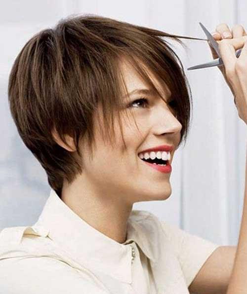 20 Braune Pixie Schnitte Frisuren Trend