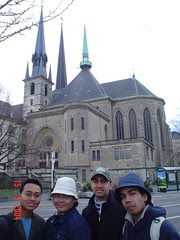 Sebuah Gereja di Luxembourg City, Luxembourg