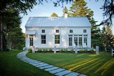 clapboard contemporary maine home design
