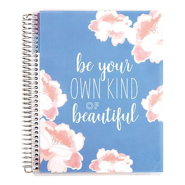 Erin Condren Coiled Notebook Be Your Own Kind of Beautiful, 7