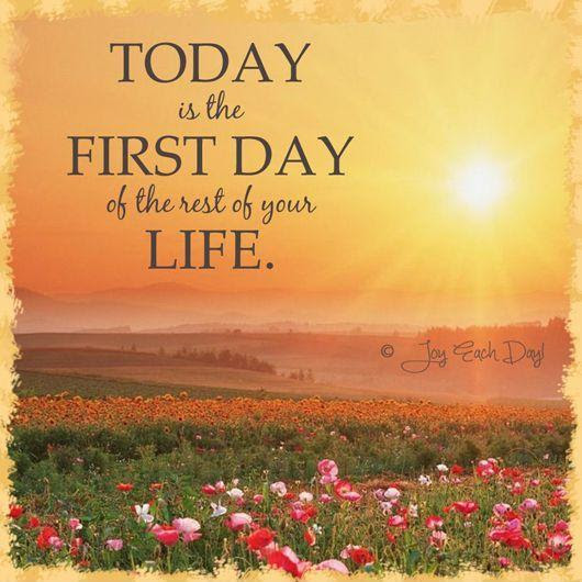 Today Is A New Day Quotes Sayings Today Is A New Day Picture Quotes