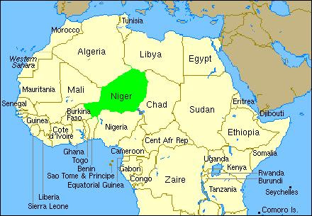 Niger Africa Map Map Of Africa