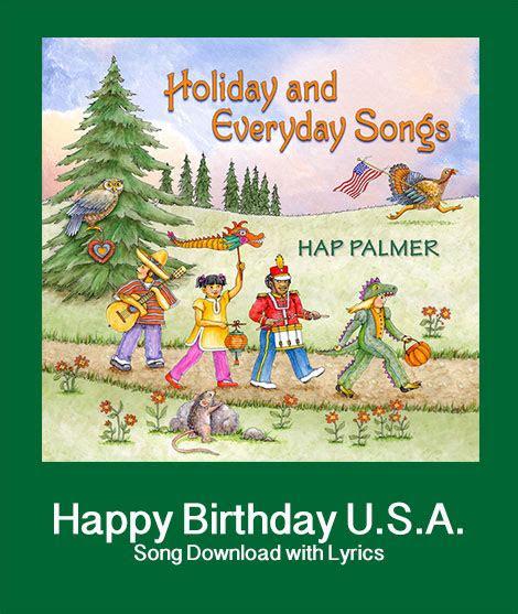happy birthday usa song   lyrics songs