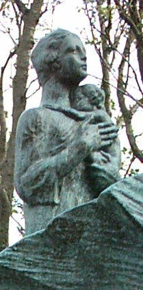 statue in park in reykjavik, iceland, may 2005 - photo by Susan Smith Nash