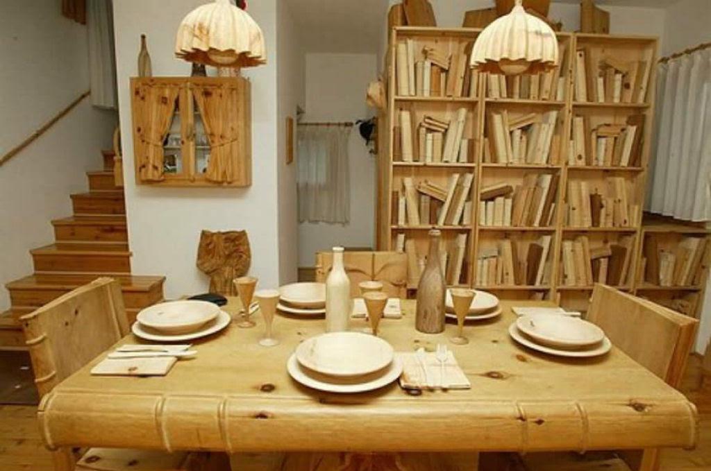 O fascinante mundo de madeira de Livio De Marchi 07
